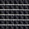 Peel And Stick Trim Resin 6mm Square Black 53x23cm Sheet